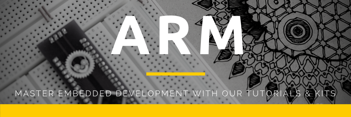 ARM development and embedded programming header for tutorials